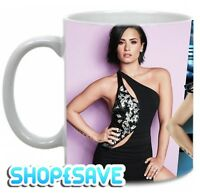 Demi Lovato Large Handle 11oz Mug, Birthday, Christmas Special Gift