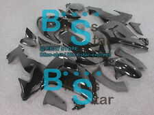 Black INJECTION Fairing Plastic Fit Kawasaki ZX10R 2006-2007 35 A6
