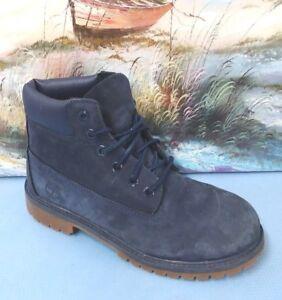 Timberland 3783A Toddler Navy Blue Premium Waterproof Boots Sz 3