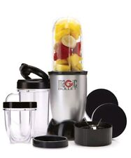 Magic Bullet 11 Piece Smoothie Blender Single Serve Cup Personal Mixer Small NEW