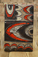 Mid Century Design Wandkeramik Keramik Vintage german Ceramic RUSCHA Fat Lava