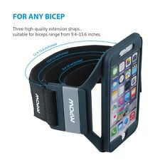 Mpow For iPhone 6S 6 Sports Gym Armband Case Premium Running Jogger Cover Holder