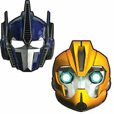Transformers Birthday Paper Masks (8 ct) Party Supplies
