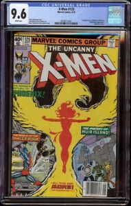 X-Men # 125 CGC 9.6 White (Marvel 1979) 1st appearance Proteus Newsstand edition