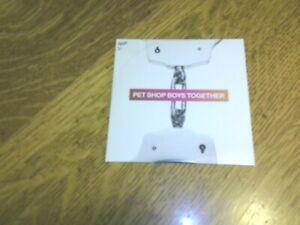 PET SHOP BOYS - TOGETHER - CD SINGLE 2010 - UK IMPORT - WEST END GIRLS
