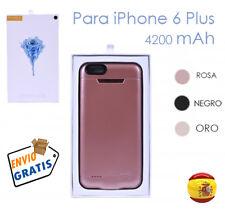 Bateria Externa Power Bank 4200 mAh Cargador Funda Para iPhone 6s 6 Plus Carcasa