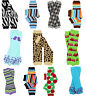 NWT JuDanzy Boys Leg Warmers Striped  Argyle Firetrucks Ruffle Zebra Leopard
