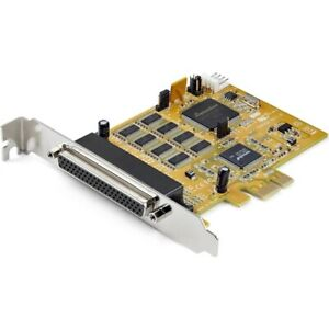 Startech 8-Port PCI Express RS232 Serial Adapter Card - PCIe to Serial DB9 RS232