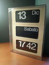 Solari Dator 6041 Orologio palette Vintage Raro