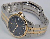Glycine Reloj de Hombre Cuarzo Análogo Acero Inoxidable Bicolor Metal Pulsera