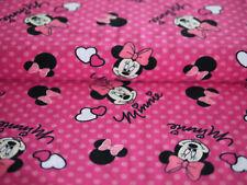 Disney Baumwoll-Jersey-Druck, Stoff Jersey Kinderstoff Minnie Mouse, Micky Maus