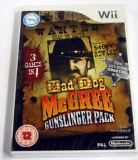 JEU Nintendo WII MAD DOG MC CREE GUNSLINGER  uk  neuf