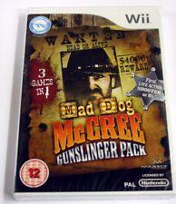 JEU Nintendo WII MAD DOG MC CREE GUNSLINGER  uk  neuf
