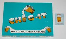 Set of 2 BEER DRINKING Games - CHUG IT and BEER! - Both complete and fun