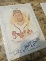 2018 Topps Allen & Ginter's SP Jumbo 5x7 Base /49 Ender Inciarte Braves