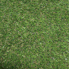 Artificial Grass Mat 15mm Thick - Greengrocers Fake Turf Astro Lawn - 6ft X 3ft