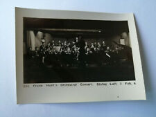 Original WW2 prisoner of War photo FRANK HUNT'S ORCHESTRAL stalag luft 3 D35