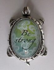 p Be Strong LUCKY TURTLE FIGURINE ganz have courage Life hope faith Message