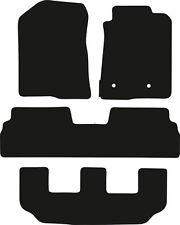 Toyota Corolla Verso (2004-2009) Fully Tailored Black 3mm Rubber Car Floor Mats