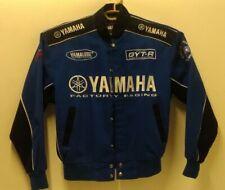 Yamaha Factory Racing Genuine GYT-R Blue Black Jacket Size S Vintage Yamalube