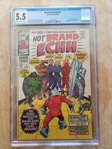 Marvel Comics Not Brand Echh 1 CGC 5.5 Parody Forbush Man
