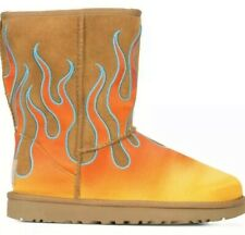 UGG Australia X Jeremy Scott Classic Flames Boots Chestnut US 7 / UK 5.5 / EU 38