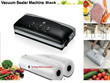 Vacuum Sealer machine, Bags Rolls, Vac Pump Food Saver Storage Reusable 25CM 28C