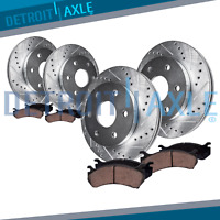 Detroit Axle Brand New 12pc Complete Front Suspension Kit for Chevy Trailblazer and GMC Envoy w// 16mm Thread