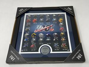 NFL 100 Team Highland Mint Super Bowl Photo and Coin