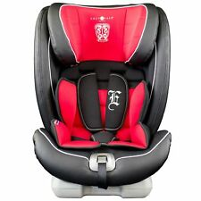 Cozy N Safe Excalibur Group 1/2/3 Child Baby ISOFIX Car Seat - Red/Black