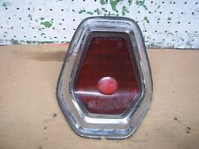1964 CHRYSLER NEW YORKER TAIL LIGHT RIGHT LAMP BEZEL TRIM SAE STDB 64C LENS J