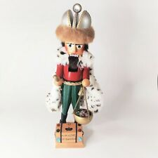 "Steinbach Nutcracker H.M. Czar Of Russia 20"" Tall No Original Box"