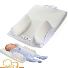 Baby Newborn Infant Anti Roll Sleep Prevent Flat Head Pillow Positioner Cushion