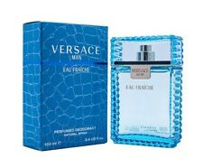 Versace Man Eau Fraiche by Versace 3.4 oz Perfumed Deodorant Spray for Men New