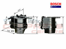 FOR CITROEN C1 C2 C3 NEMO 1.4 HDi DIESEL FUEL FILTER HOUSING GENUINE BOSCH 19019