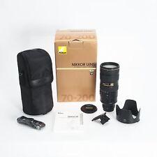 Nikon Nikkor AF-S 70-200mm F2.8 VR II Autofocus Fast Action Zoom Lens 2185