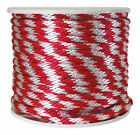 Rope Derby Rd/Wh 5/8X200 By Wellington Mfrpartno P7240S0200R70S