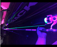 16ft UV Boat Light Black LED Strip Night UV Fishing Ultraviolet 12v fluorescent