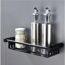 Bathroom Shelf Stainless Steel Bath Shower Shelf Basket Caddy RUSTPROOF Black