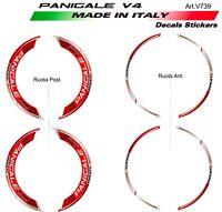 Adesivi per Ruote Ducati Panigale V4