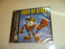 EGGS OF STEEL NEW SEALED PLAYSTATION 1 PS1 PSX video game VERY RARE COMPLETE
