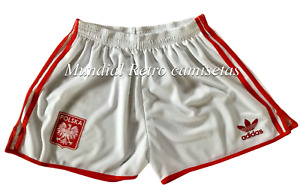 Polonia Poland Short pantaloncini blanco (retro)