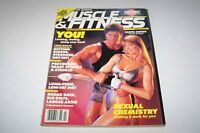 FEB 1988 MUSCLE & FITNESS body building magazine