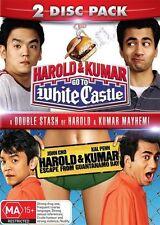 Harold & Kumar Escape from Guantanamo Bay / White Castle DVD NEW