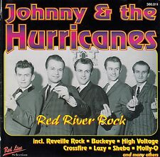 JOHNNY AND THE HURRICANES : RED RIVER ROCK / CD