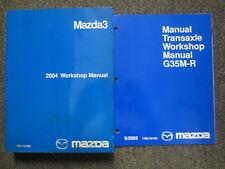 2004 Mazda 3 MAZDA3 Service Repair Shop Manual FACTORY OEM BOOKS 2 VOLUME SET 04