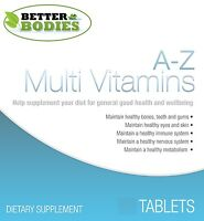 A-Z Multi Vitamins Premium Ingredients Multivitamins Multivitamin & Minerals