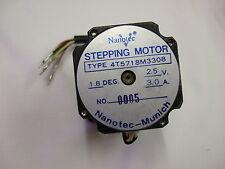 NANOTEC 4T5718M3308 STEPPER MOTOR 1.8DEG 2.5V 3.0A (0005)     ASYS157