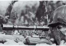 B&W Photo German Sniper Mauser 98 WWII WW2 World War Two Wehrmacht