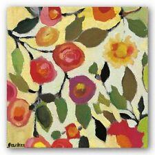 FLORAL ART PRINT Floral Tile II Kim Parker